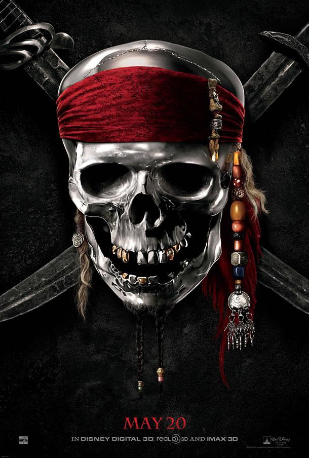 Pirate des Caraïbes 4 Pirates-caraibes-4-affiche-craneuse-L-BLZEZQ