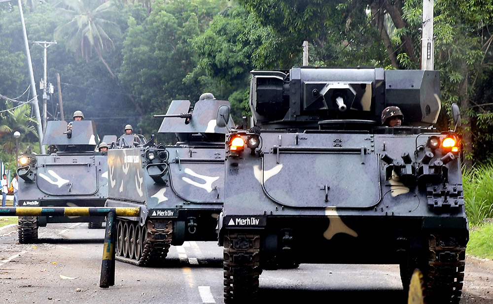 ISIS in Philippines Tanks-military-iligan-city