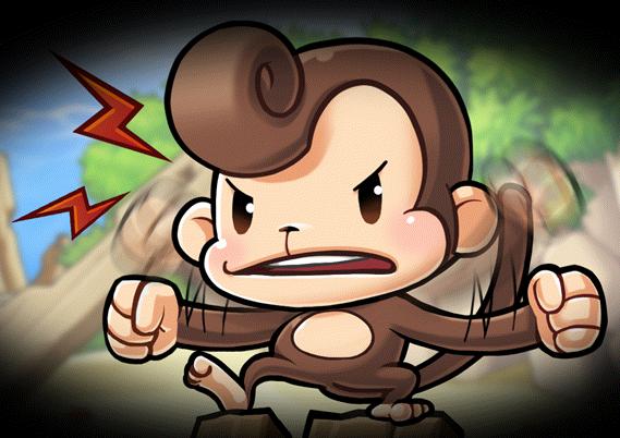 Cannon Shooter Tutorial NPC_Monkey