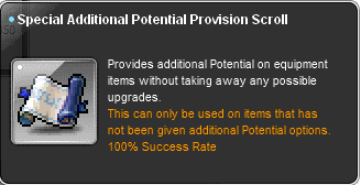 MapleSEA Season 2 Patch Notes SpecialAdditionalPotential01