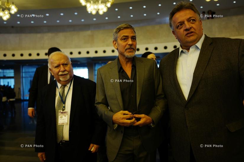 "George at the ""Against the Crime of Genozide"" Global Forum in Yerewan Big_ffc937399"