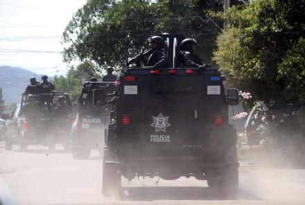 Enfrentamiento entre la Policia Federal y Cartel de Jalisco NG en Tanhuato Michoacán, deja 43 muertos. Ap3-440x297