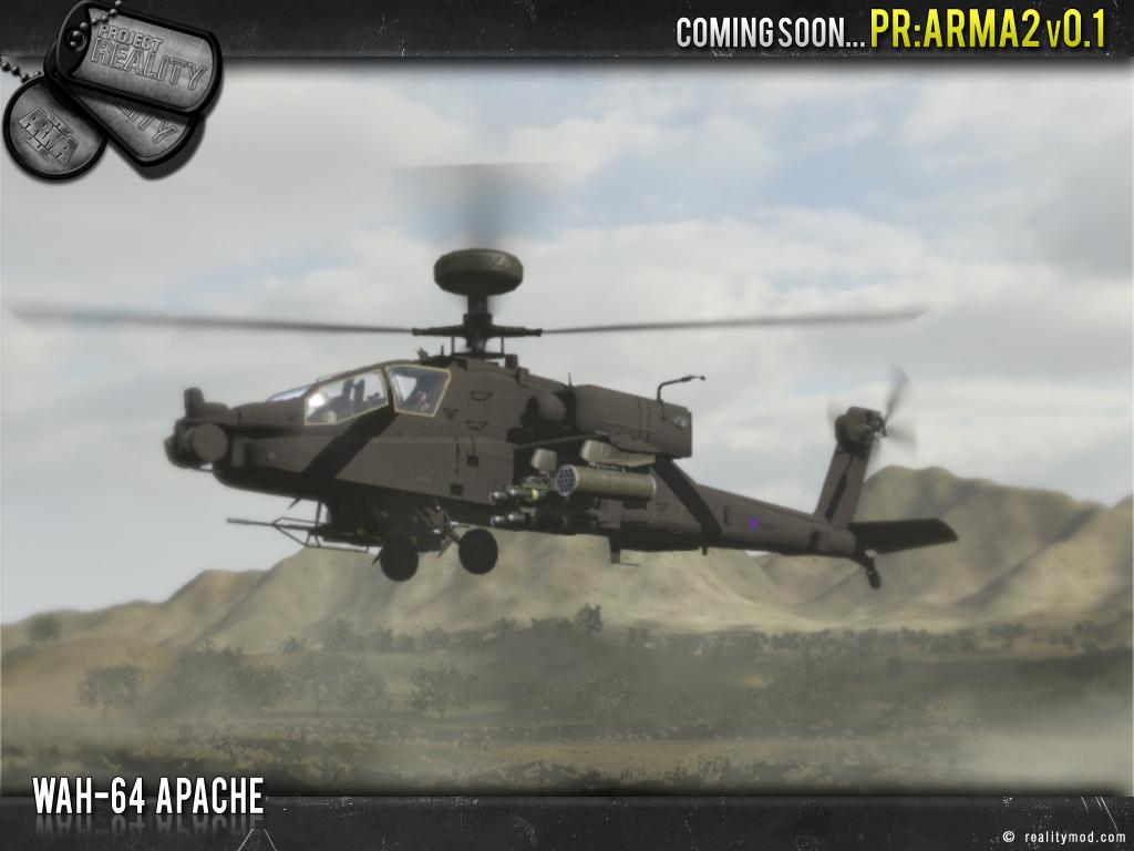 Project reality : ARMA II Apache_holding