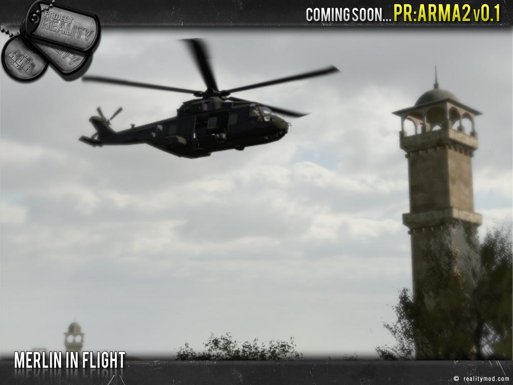 Project reality : ARMA II Merlin_overhead
