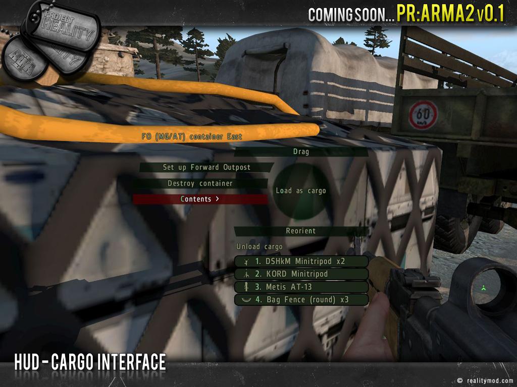 [PR Arma 2] Highlights Reel #5 Hud_cargo