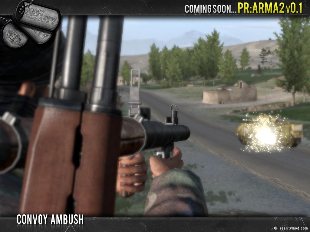 PR [ArmA 2] - Highlights Reel #3 Convoy_ambush