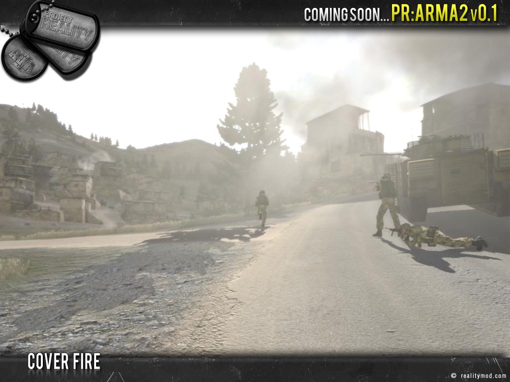 PR [ArmA 2] - Highlights Reel #3 Cover_fire
