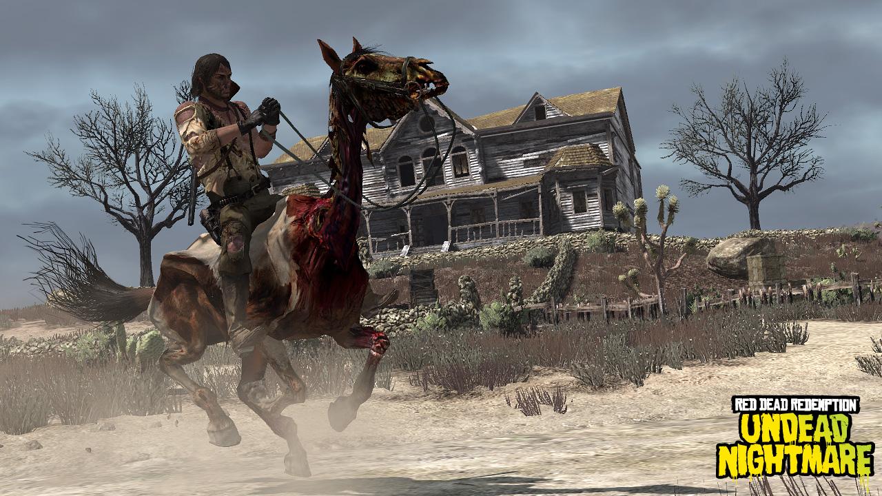 Artwork del Pack Undead Nightmare de Red Dead Redemption  101
