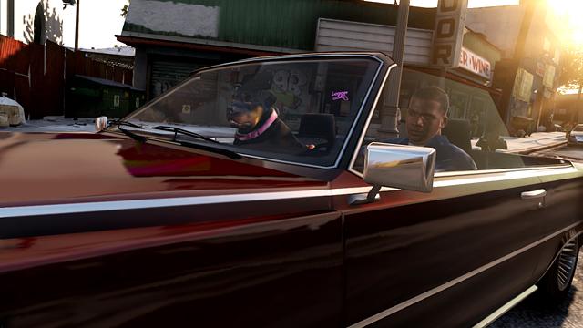 Imagens do GTA V em véspera de Natal. Actual_1356323913