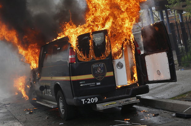 what do you all think of the Baltimore riots going on right now? Baltimore_riot1