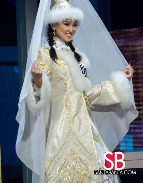 Miss Kazakhstan Universe - Gauhar Rakhmetalieva (2007) Kazakhstan1