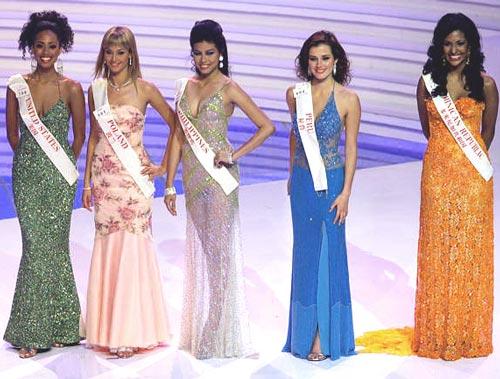 Katarzyna Weronika Borowicz - Miss Earth Water 2005 (Poland) 9
