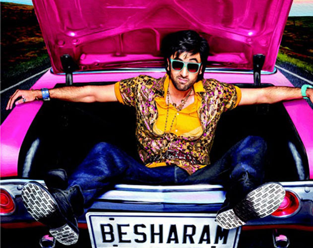 With an earning of 7 Crores, 'Besharam' falls flat on day 2 Besharam