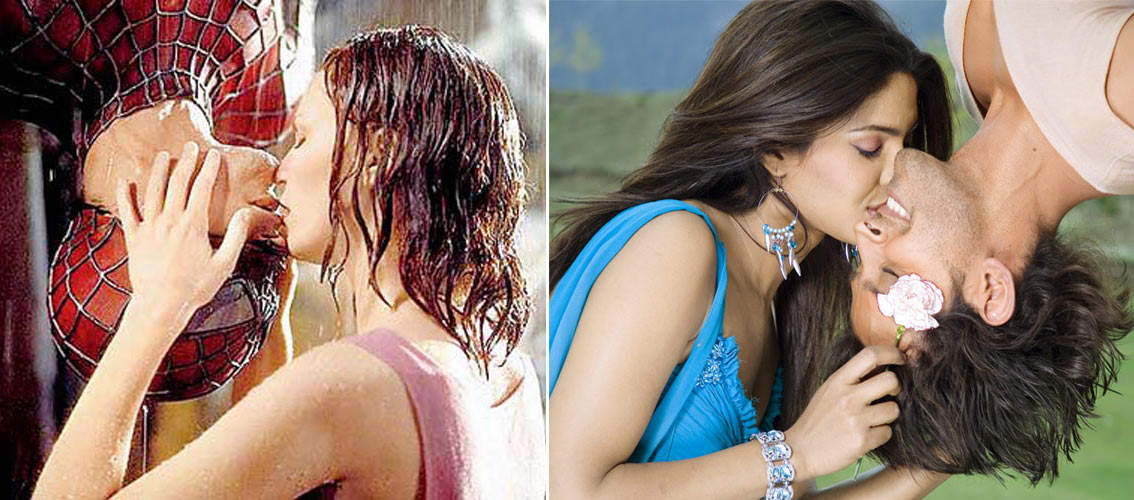 Krrish 3: Hrithik, Priyanka to kiss like 'Spiderman and MJ' Krrish-spiderman