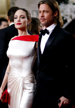 Angelina Jolie's still a bad girl, says beau Brad Brangelina4