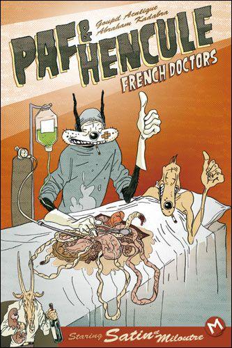 La bande-dessinée française - Page 4 French_Doctors_Paf_Hencule_tome_1