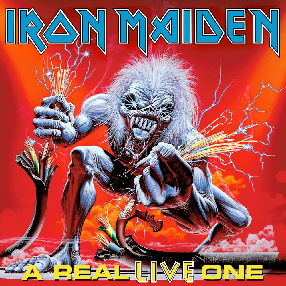 Pochette Iron Maiden A_Real_Live_One_Live