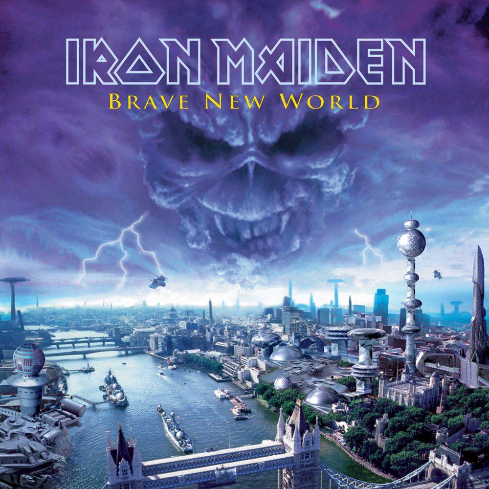 Pochette Iron Maiden Brave_New_World