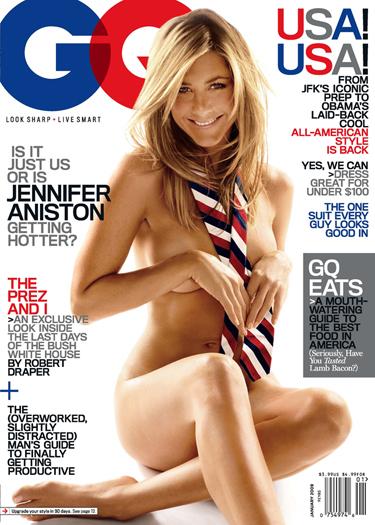 Jennifer Aniston poses nude on GQ AnistonGQ(1)