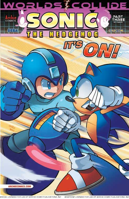 Programa 8x14 (23-01-2015) - 'Far Cry 4' Archie-sonic-and-mega-man-crossover-worlds-collide-part-3
