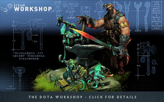 Dota 2 стала free и теперь любой желающий может ее купить Blacksmith_SteamWorkshop_blog