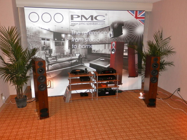 PMC o ATC; amplificación adecuada PMC_Rega_demo_room