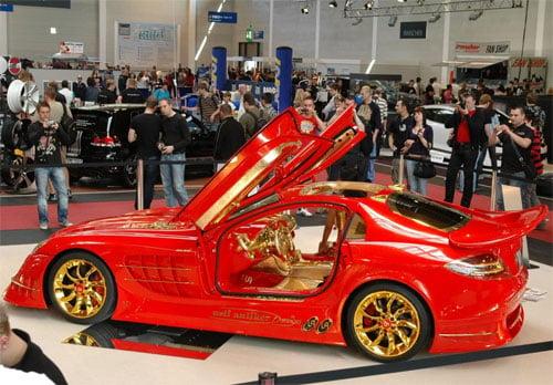 Siêu xe McLaren SLR gắn hơn 5kg vàng 17_36_1302369630_7_t438254