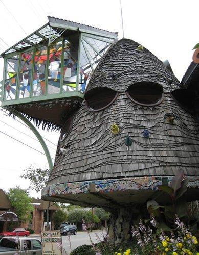 maison en vrac Oddee-champignon
