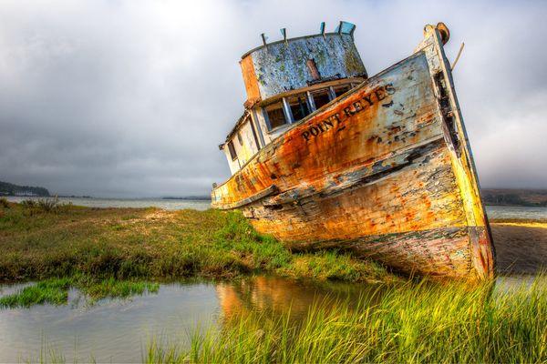 Top 25 des plus belles photos d'épaves de bateaux à travers le monde Navire-abandonn%C3%A9-Point-Reyes-Californie_resultat