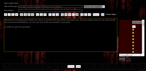 I've been having a problem with the forums recently... Tumblr_mckvb7QRQu1qba8ws