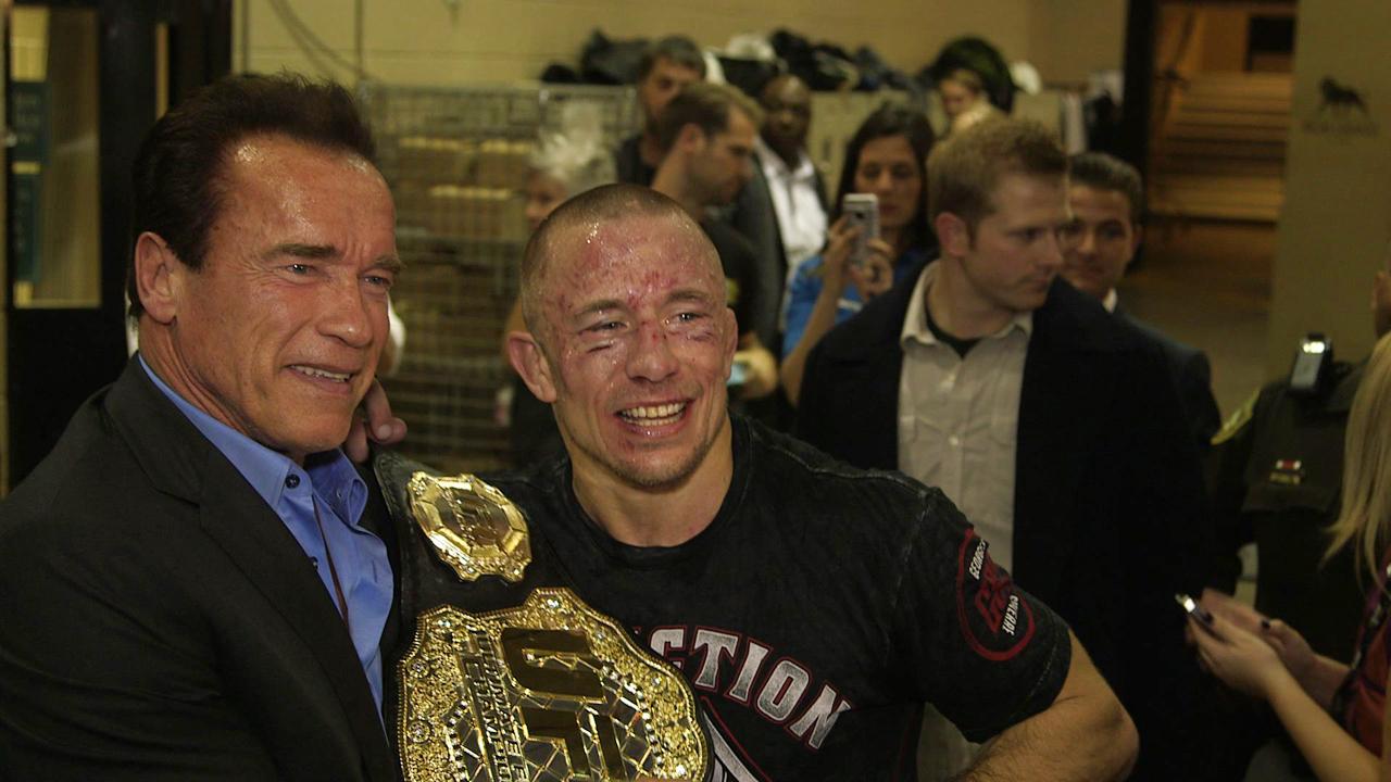 ¿Cuánto mide Arnold Schwarzenegger? - Altura - Real height Arnold_Schwarzenegger_Interview