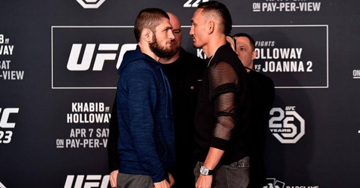 ¿Cuánto mide Khabib Nurmagomedov? - Altura - Real height UFC-223-Media-Day-Faceoffs_652856_OpenGraphImage