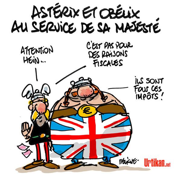 Pastiches, detournements, plagia de vos personnages préférés ! - Page 6 121015-asterix-obelix