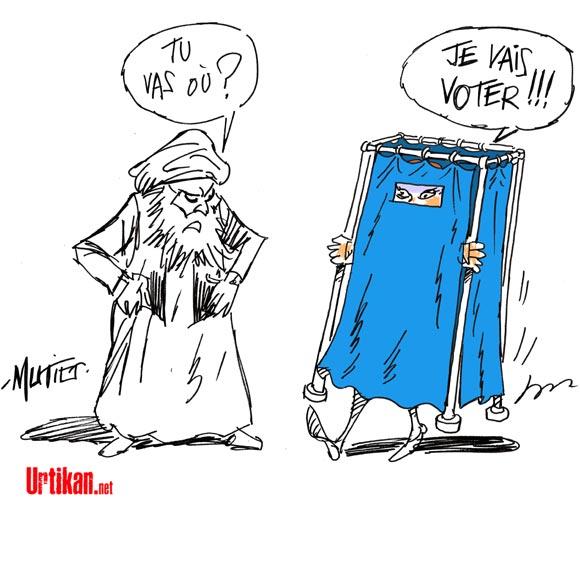 A RIRE OU EN PLEURER OU REVUE DE PRESSE SATIRIQUE - Page 3 140406-afghanistan-vote-mutio