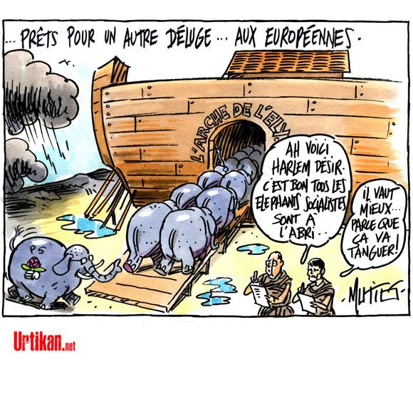 A RIRE OU EN PLEURER OU REVUE DE PRESSE SATIRIQUE - Page 4 140412-deluge-socialistes-mutio