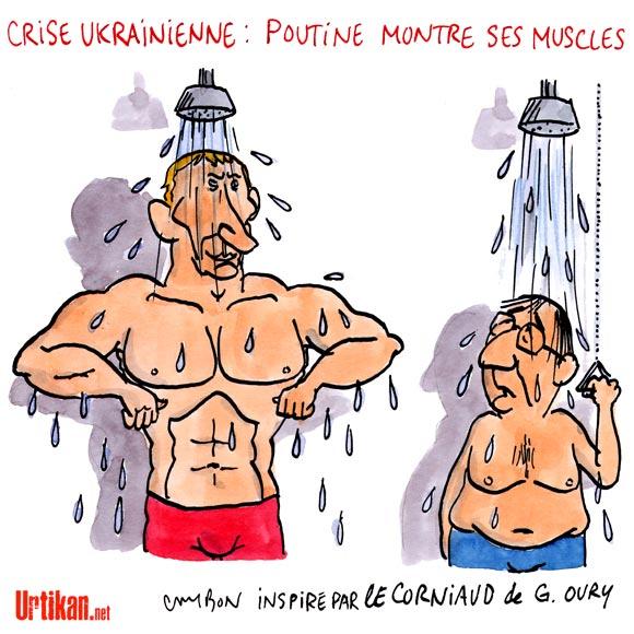 A RIRE OU EN PLEURER OU REVUE DE PRESSE SATIRIQUE - Page 4 140415-poutine-russie-ukraine-cambon