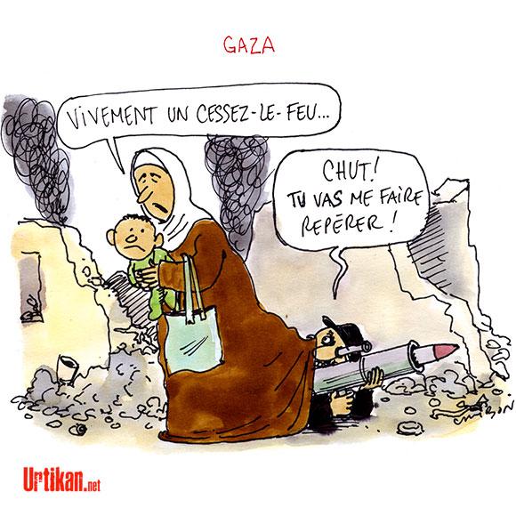 A RIRE OU EN PLEURER OU REVUE DE PRESSE SATIRIQUE - Page 13 140726-cessez-le-feu-gaza-cambon