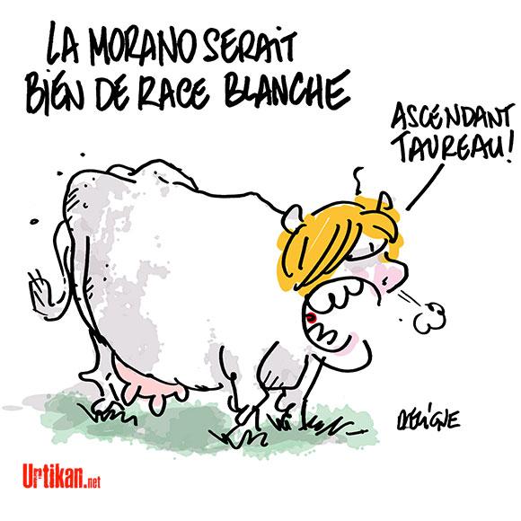 Dessins de presse  151001-nadine-morano-race-blanche-deligne