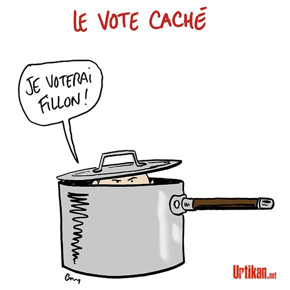 Dessins de presse  - Page 24 170411-le-vote-cache-fillon