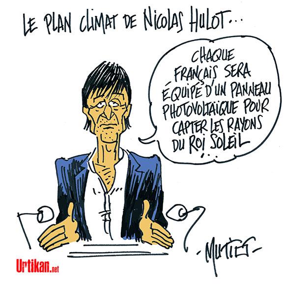 Le dessin du jour (humour en images) - Page 7 170707-Hulot-plan-climat-macron-mutio