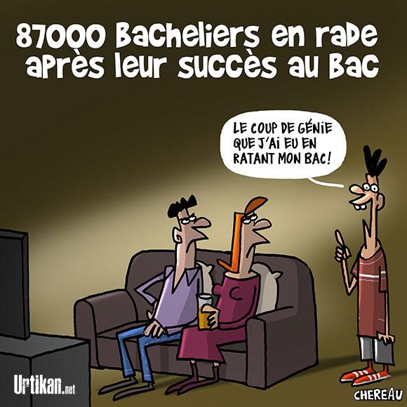 Le dessin du jour (humour en images) - Page 7 170718-Bac-2017-chereau