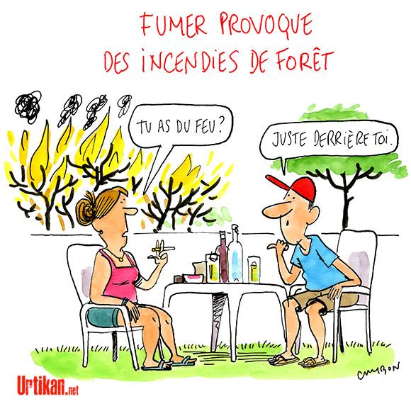 Le dessin du jour (humour en images) - Page 7 170728-incendies-de-foret-cambon