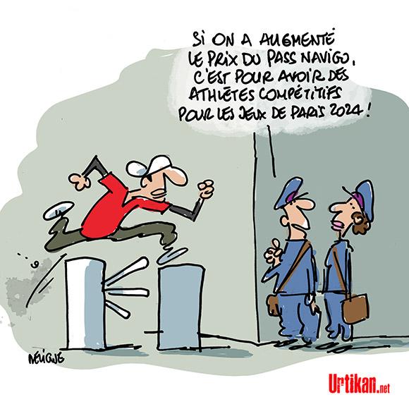 Le dessin du jour (humour en images) - Page 7 170801-pass-navigo-jeux-olympiques-paris-deligne