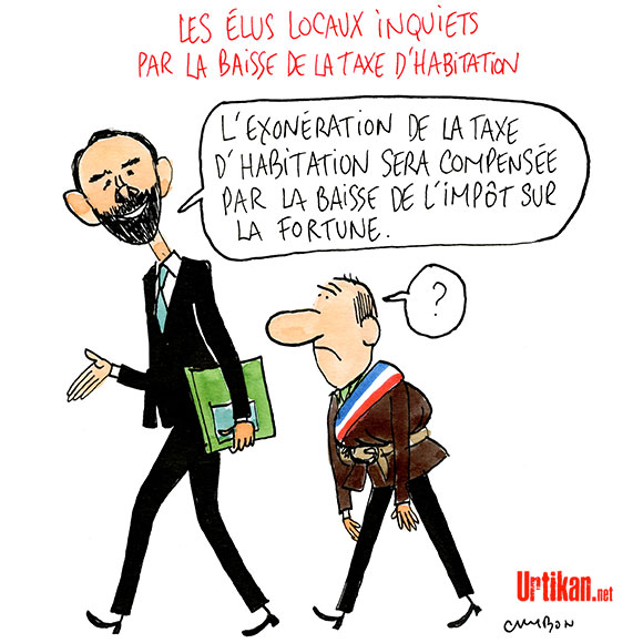Le dessin du jour (humour en images) - Page 7 170807-maires-inquiets-dotations-etat-cambon