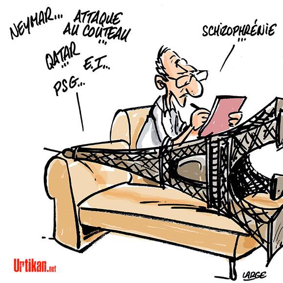 Le dessin du jour (humour en images) - Page 7 170808-Paris-tour-eiffel-large