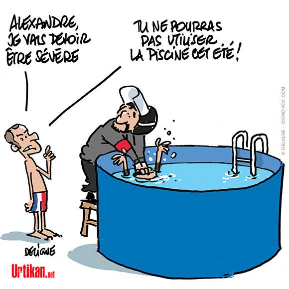 Le dessin du jour (humour en images) - Page 18 180721-macron-benalla-piscine-deligne