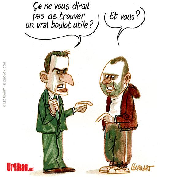 Le dessin du jour (humour en images) - Page 20 181017-Macron-boulot-Lecroart