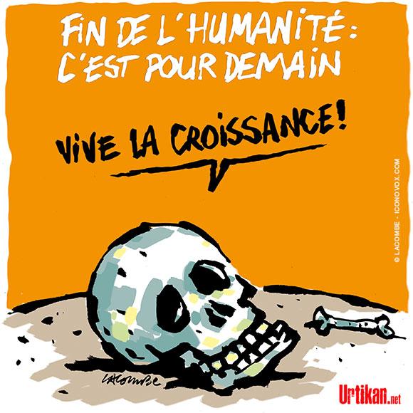 Le dessin du jour (humour en images) - Page 20 181030-fin-humanite-lacombe