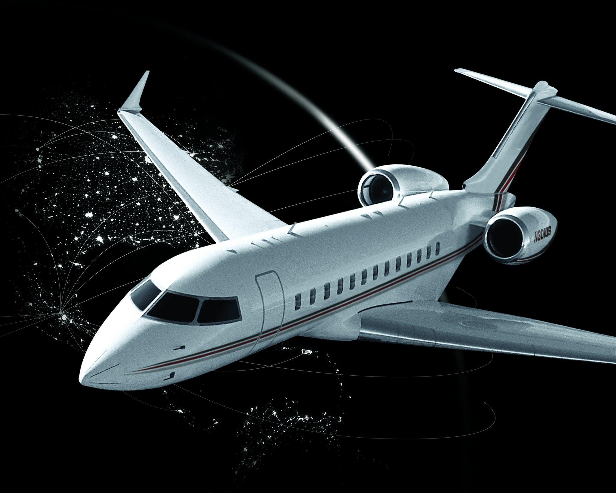 """Aeronaves con sello """"hecho en Querétaro"""" Global_8000_ext"""