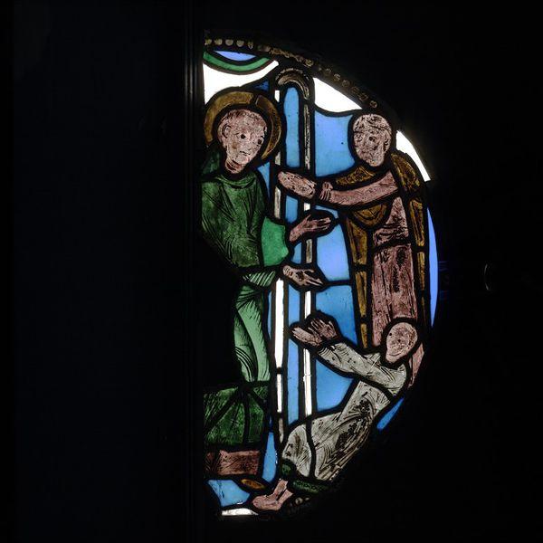 Les vitraux  du XIIIéme siècle . 2006AK2797_jpg_l